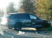David Beckham Crashes His Audi RS6 - image 580954