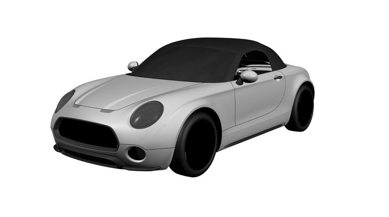 Patent Images of a Production-Ready Mini Superleggera Roadster Hits the Internet