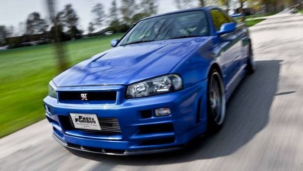 """Paul Walker's Nissan Skyline From """"Fast & Furious"""" Up For ..."""