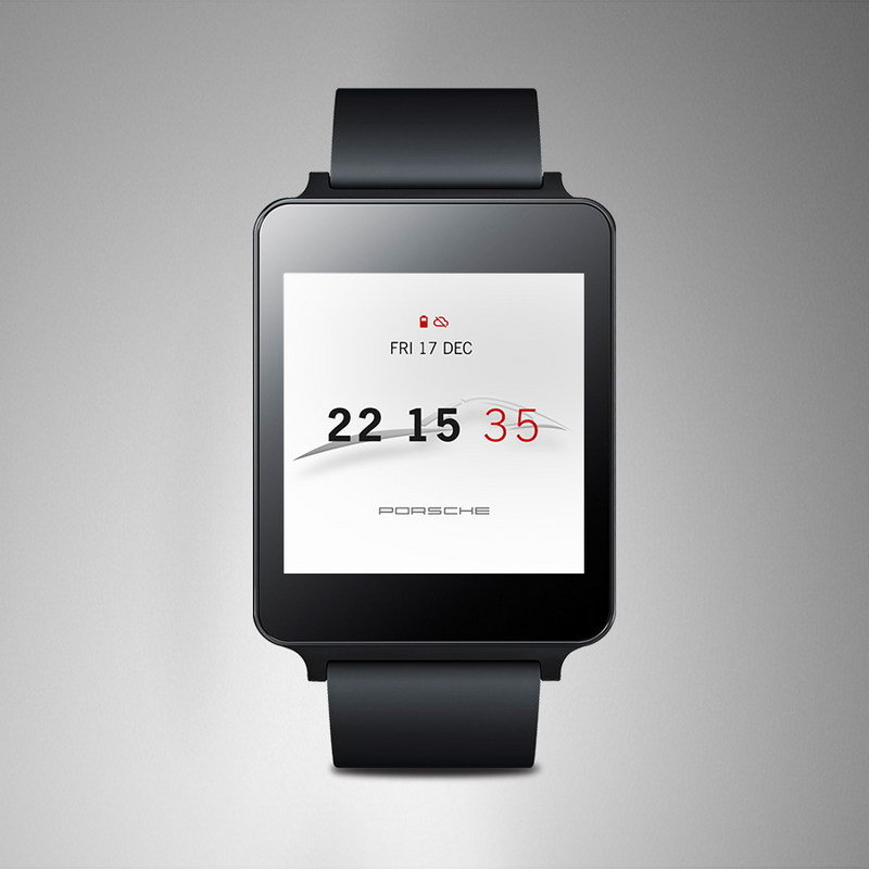 Porsche Reveals Watch Face For Android Wear - image 599950
