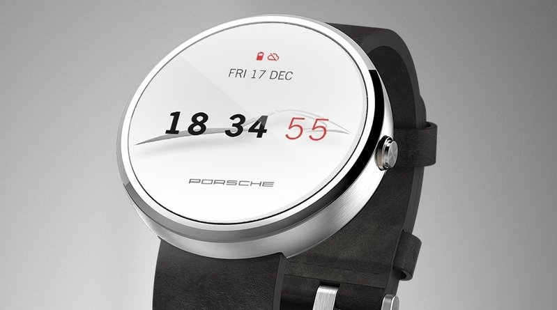 Porsche Reveals Watch Face For Android Wear