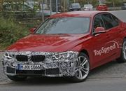 Spy Shots: Facelift BMW 3 Series Sedan Goes Out for a Spin - image 581246
