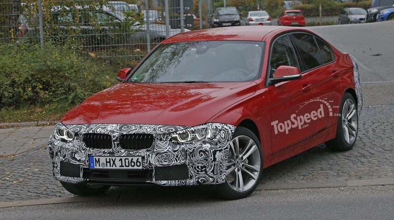 Spy Shots: Facelift BMW 3 Series Sedan Goes Out for a Spin