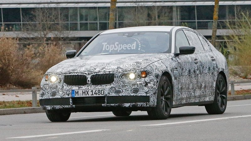 Spy Shots: 2017 BMW 5 Series Begins Testing