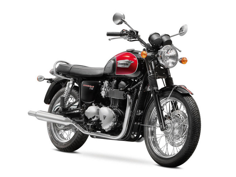 2015 Triumph Bonneville T100 High Resolution Exterior - image 581767