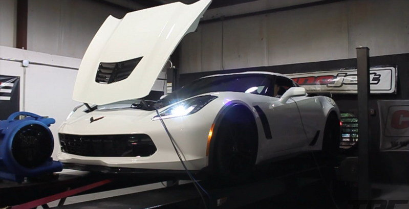 2015 Corvette Z06 by Vengeance Racing on the Dyno: Video