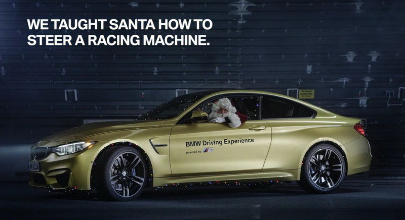 BMW Reveals Santa's New Ride: Video