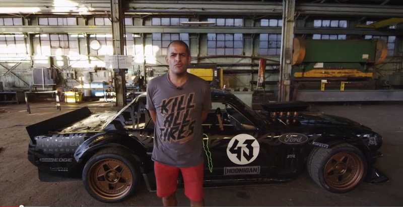 Chris Harris Gives Ken Block's Hoonigan Mustang a Proper Walkaround: Video