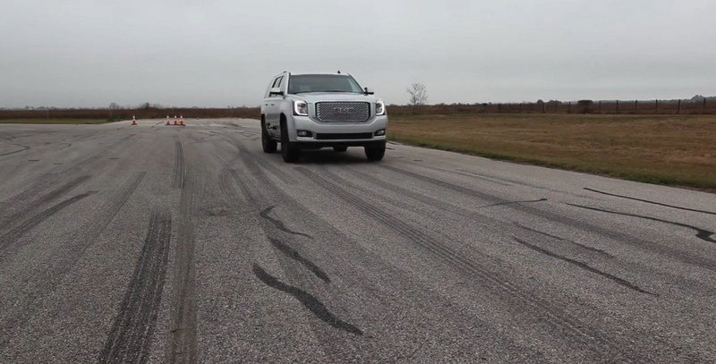 GMC Denali By Hennessey Goes From 0 To 60 mph In 4.5 Seconds: Video