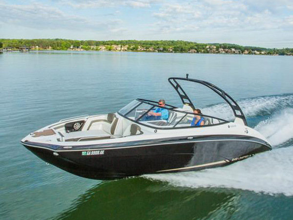 2015 yamaha 242 limited s boat review top speed