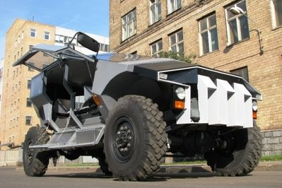 2015 ZiL Punisher Is Russia's newest Troop Carrier
