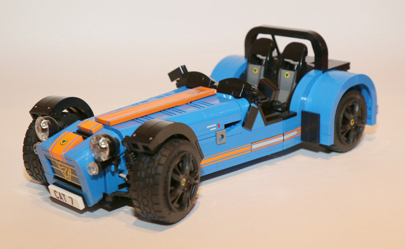 Check Out This Lego Caterham Super Seven