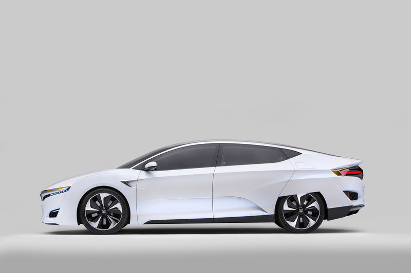 Honda Brings FCV Concept and Turbocharged VTEC Engines to Detroit High Resolution Exterior - image 611004