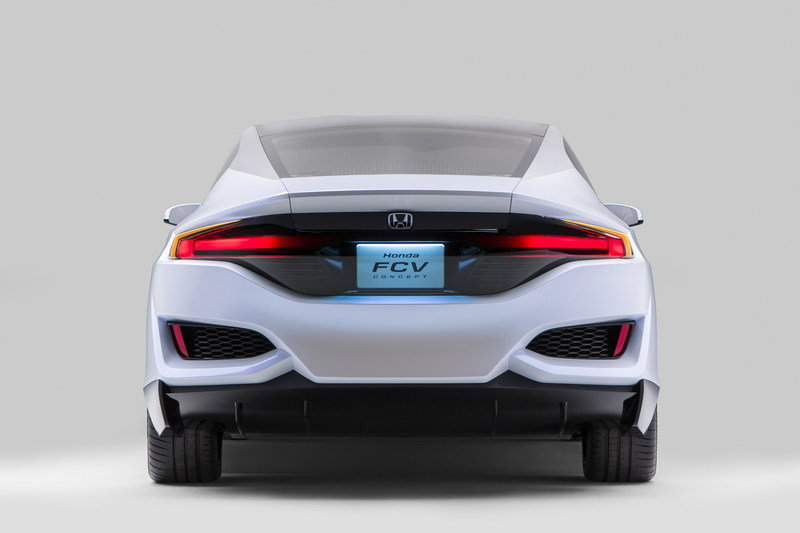 Honda Brings FCV Concept and Turbocharged VTEC Engines to Detroit
