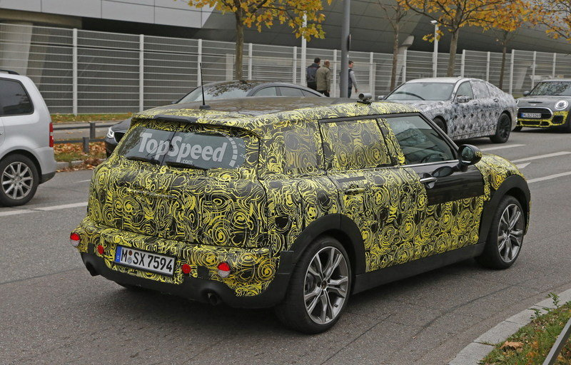 Spy Shots: Mini Clubman Spied Inside and Out