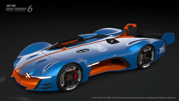 The Alpine sports car may still be a pipedream, but the Vision GT Concept version carrying the famed name is freaking awesome!