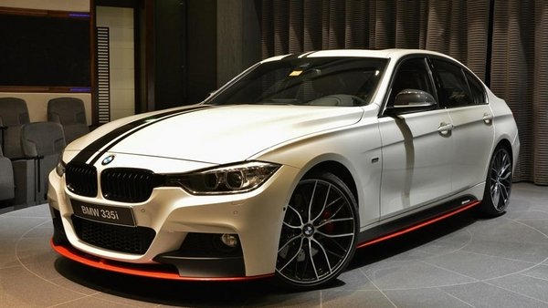 BMW Abu Dhabi is at it again, this time with a one-off 335i.