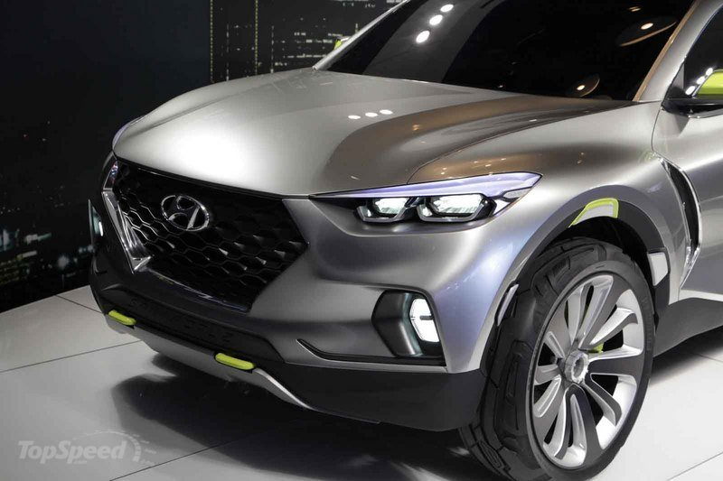 Hyundai Will Create a New Niche with the Santa Cruz Pickup, but It Still Has a Couple of Years to Marinate