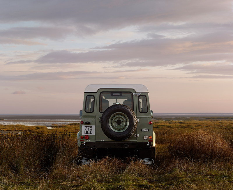 2015 Land Rover Defender Heritage Edition High Resolution Exterior - image 609257