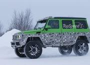 Spy Shots: Mercedes G63 AMG 4x4 Green Monster Testing On The Snow - image 611316