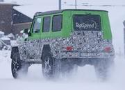 Spy Shots: Mercedes G63 AMG 4x4 Green Monster Testing On The Snow - image 611322