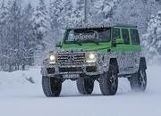 Spy Shots: Mercedes G63 AMG 4x4 Green Monster Testing On The Snow - image 611314