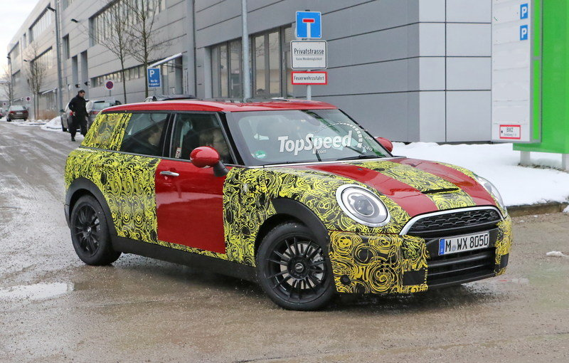 Spy Shots: Mini Clubman Caught Wearing Production Taillights