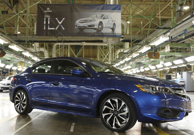 Production of the 2016 Acura ILX Begins Exterior - image 613784