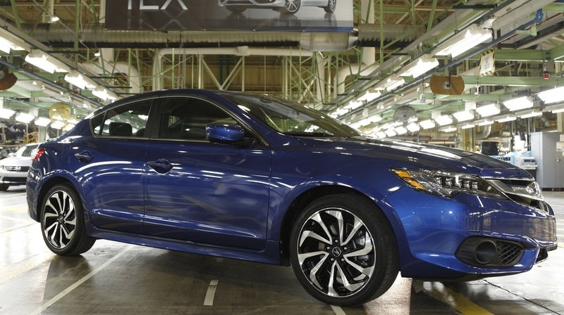 Production of the 2016 Acura ILX Begins