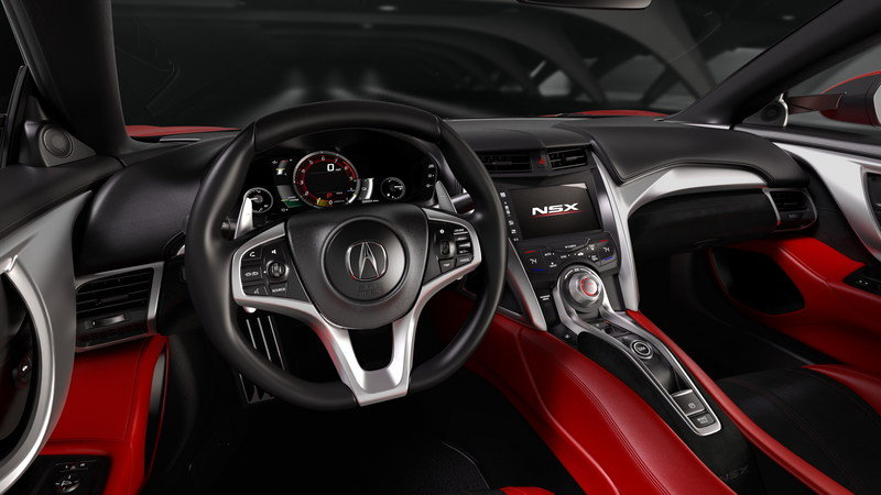 2016 Acura NSX High Resolution Interior - image 610474