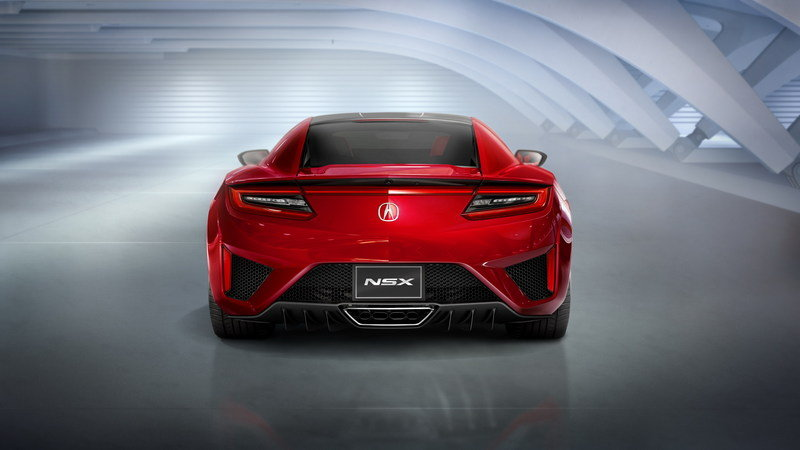 2016 Acura NSX High Resolution Exterior - image 610467