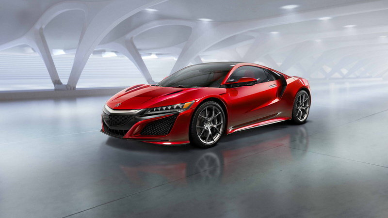 2016 Acura NSX High Resolution Exterior - image 610469