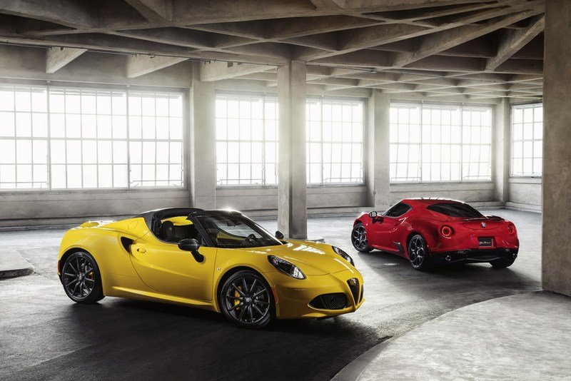 Wallpaper of the Day: 2016 Alfa Romeo 4C Spider High Resolution Exterior - image 610351