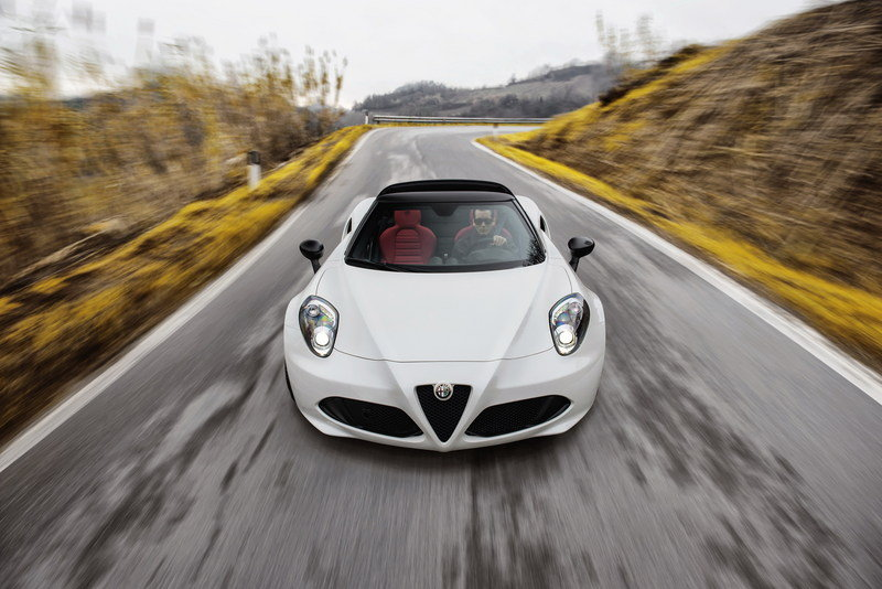 2016 Alfa Romeo 4C Spider High Resolution Exterior - image 610396