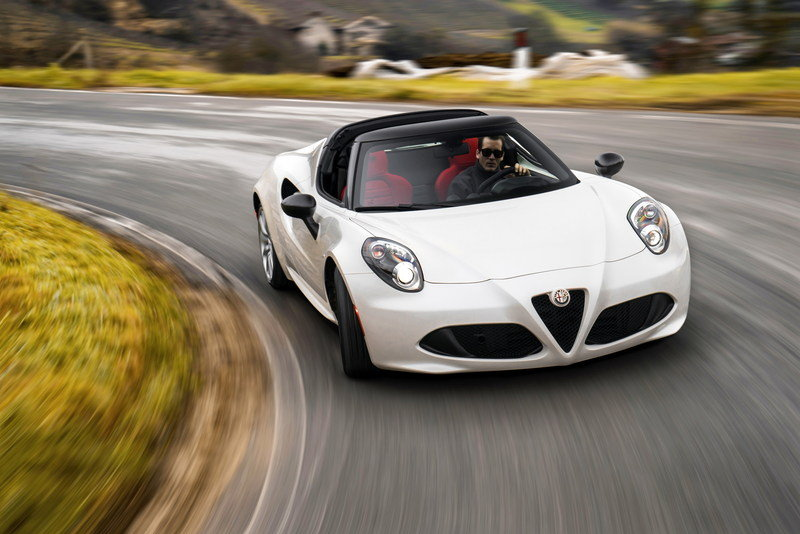 2016 Alfa Romeo 4C Spider High Resolution Exterior - image 610397