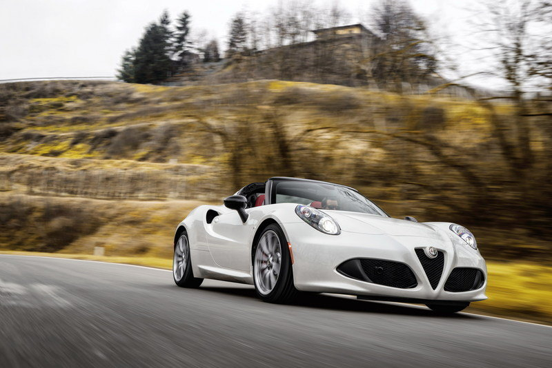 2016 Alfa Romeo 4C Spider High Resolution Exterior - image 610402