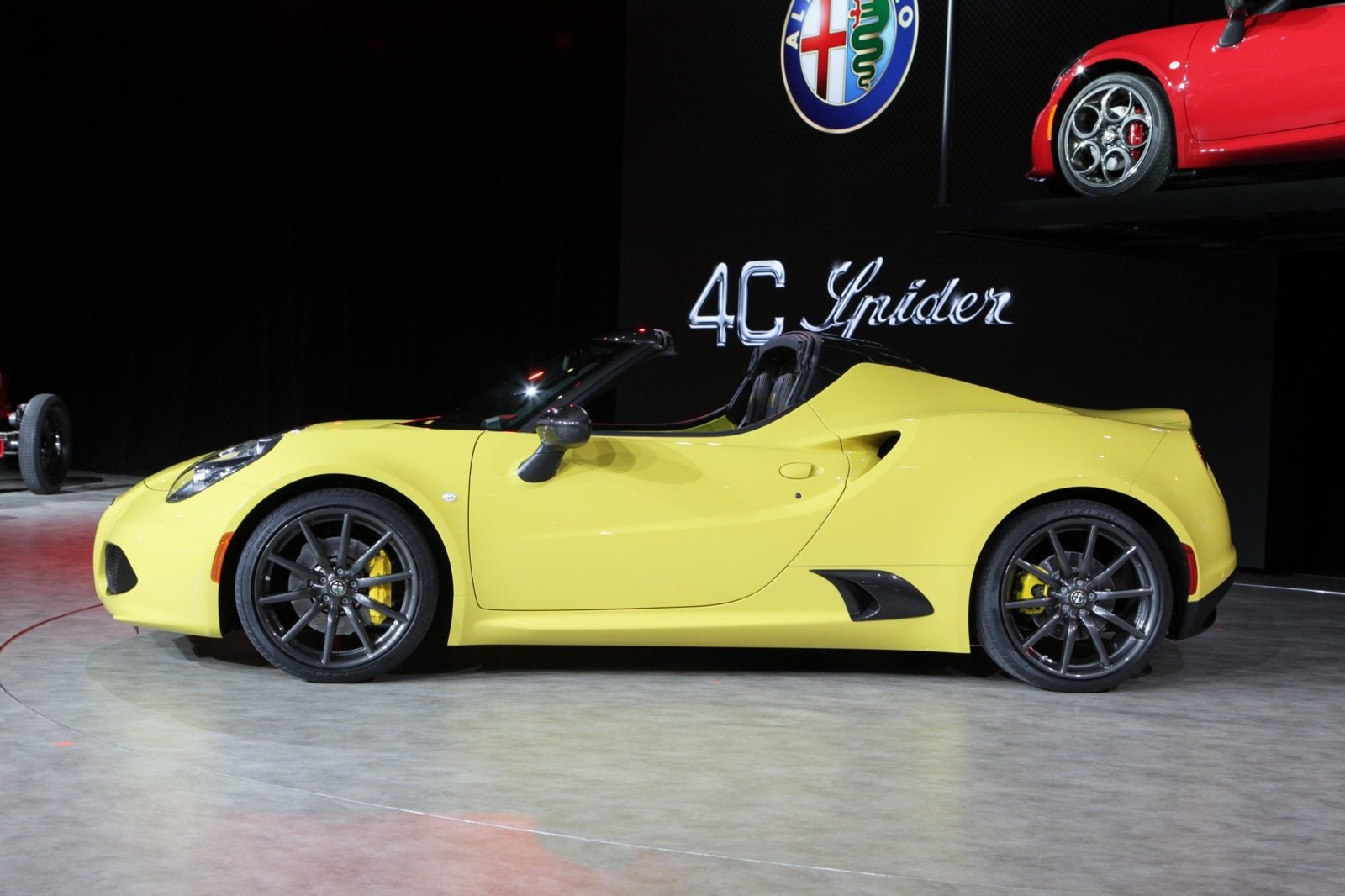 2016 alfa romeo 4c spider picture 612646 car review top speed. Black Bedroom Furniture Sets. Home Design Ideas