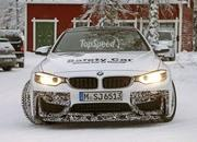 Spy Shots: BMW M4 GTS Testing in the Snow - image 611476