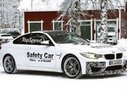 Spy Shots: BMW M4 GTS Testing in the Snow - image 611477