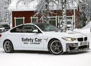 Spy Shots: BMW M4 GTS Testing in the Snow - image 611478