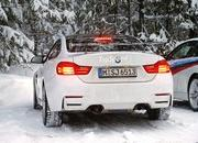 Spy Shots: BMW M4 GTS Testing in the Snow - image 611470