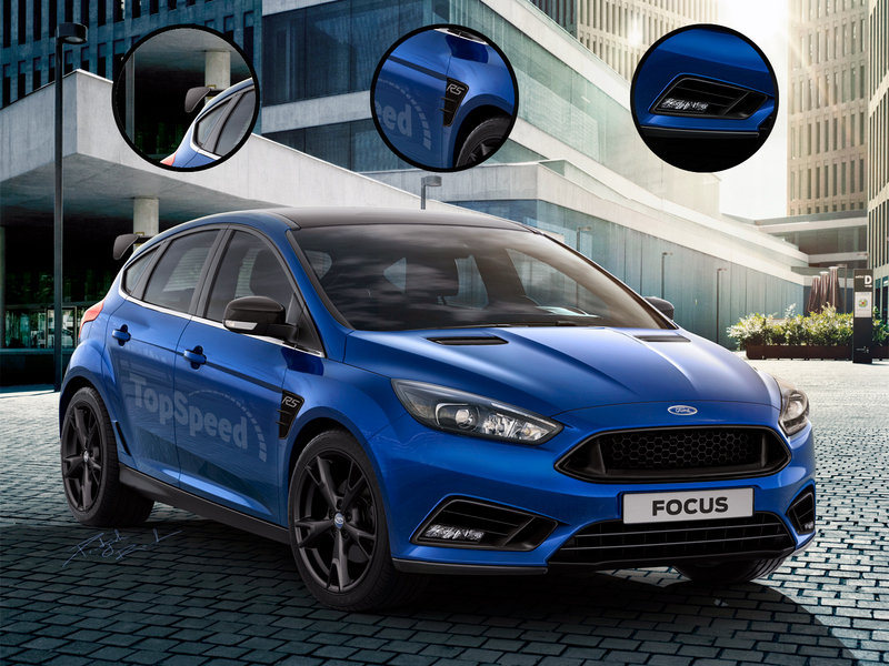 2016 Ford Focus RS Exclusive Renderings - image 609277