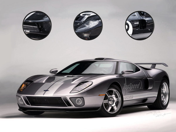 ford gt car review  top speed