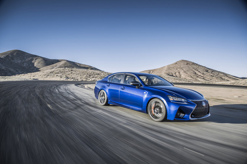 Lexus GS F Flexes its Muscles on the Detroit Auto Show Floor High Resolution Exterior - image 610862