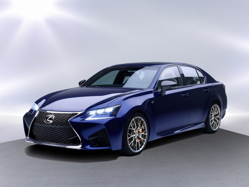 2016 Lexus GS F High Resolution Exterior - image 608999