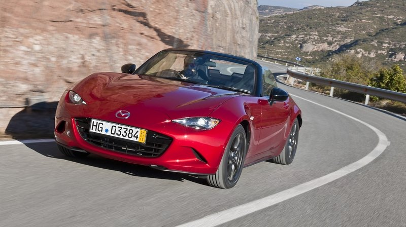 2016 Mazda MX-5 High Resolution Exterior - image 614586