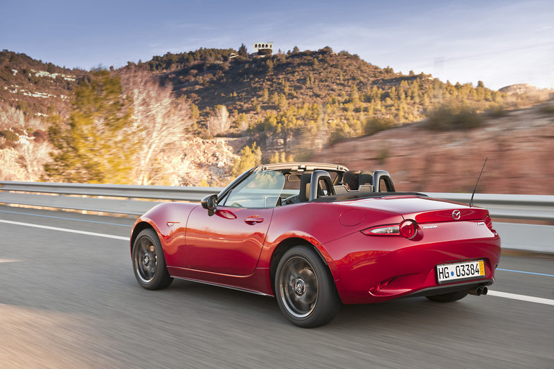Wallpaper of the Day: 2016 Mazda MX-5 Miata