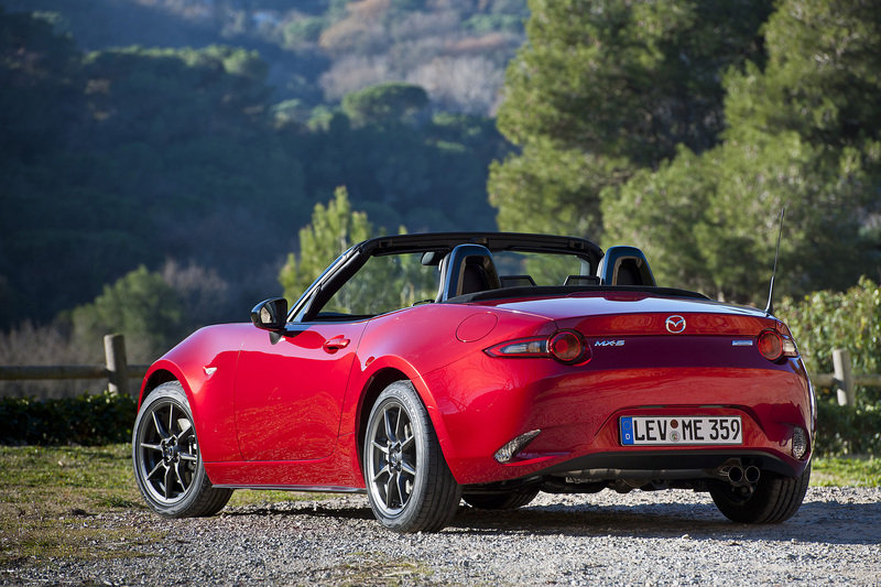 2016 Mazda MX-5 High Resolution Exterior - image 614555