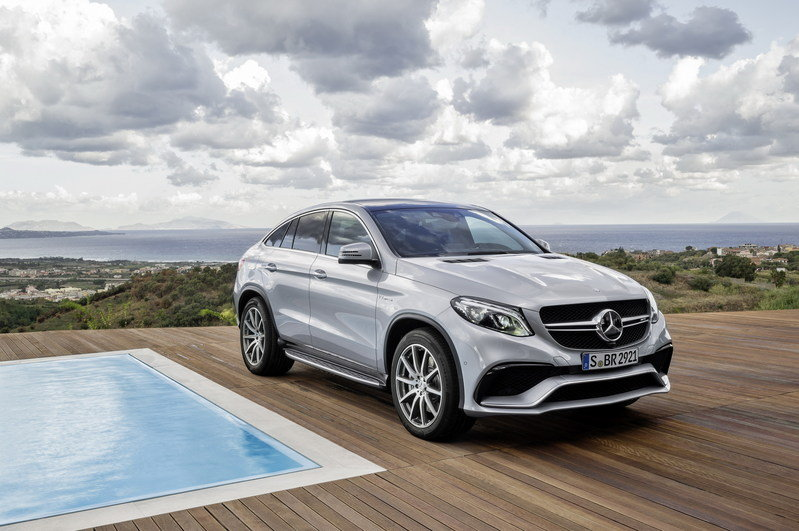 2016 Mercedes-Benz GLE63 AMG Coupe High Resolution Exterior Wallpaper quality - image 610162