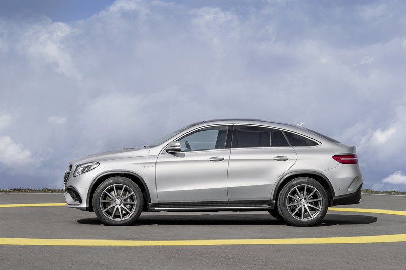 2016 Mercedes-Benz GLE63 AMG Coupe High Resolution Exterior - image 610166